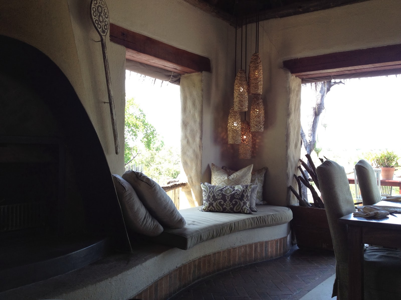 Sabi Sands - Other side of the lounge
