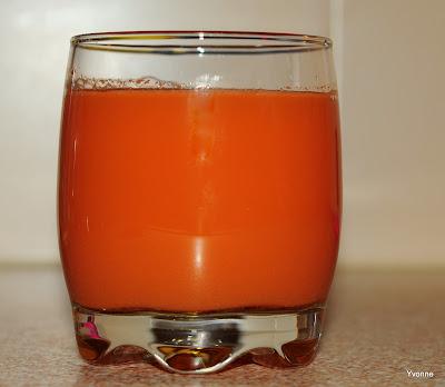 wortel/bleekselderijsap met gember