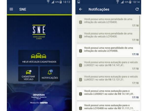 Novo aplicativo do governo oferece 40% de desconto em multas de trânsito