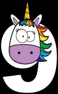 Divertidos Números con Unicornio.