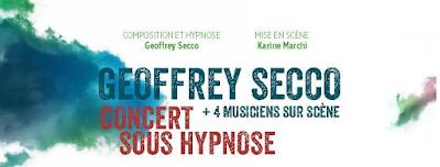 [Concours] : A gagner 3 places pour le concert sous hypnose de Geoffrey Secco