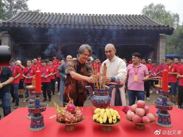 Fearless Drama Huo Yuanjia Vincent Zhao Nikita Mao