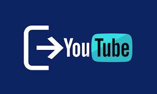 Cara Log Out Akun di Aplikasi Youtube Android