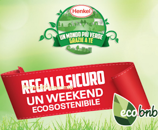 Logo Henkel e Coop ti regalano 600 soggiorni da 120 euro