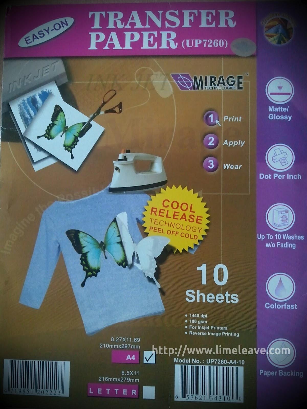 Sablon Kaos Hitam Menggunakan Kertas Transfer Paper (Cetak