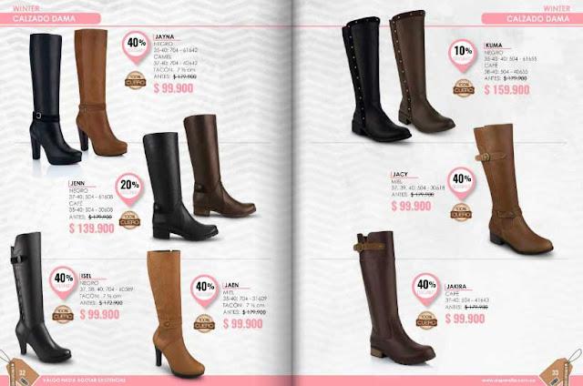 Zapatos Aquarella  calzados de damas : precios especiales 2016