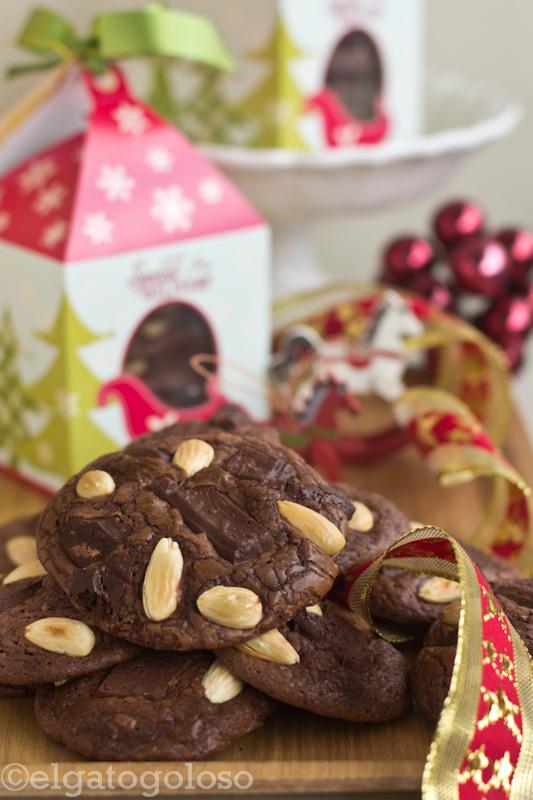 El gato goloso: recetas de Navidad -  Galletas de chocolate