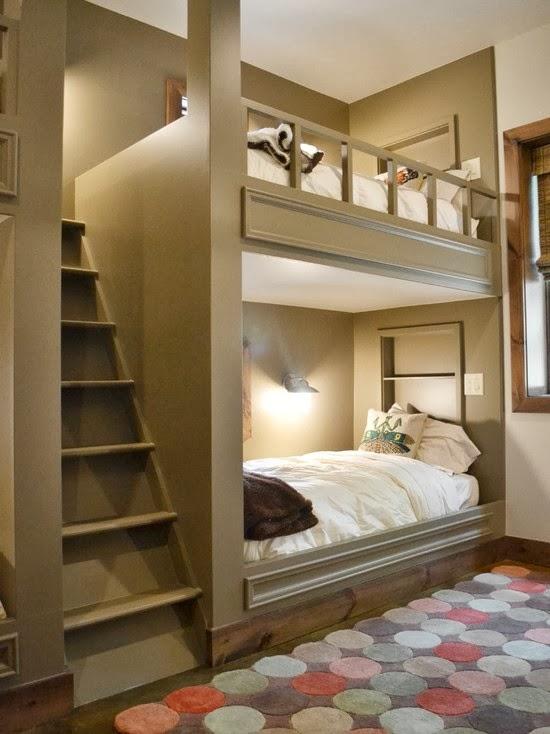 Hogares frescos 40 ideas para dise ar el dormitorio de for Dormitorio ninos diseno
