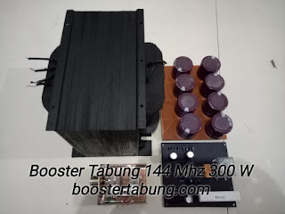 Travo High Voltage Booster Tabung 144 Mhz 300 W