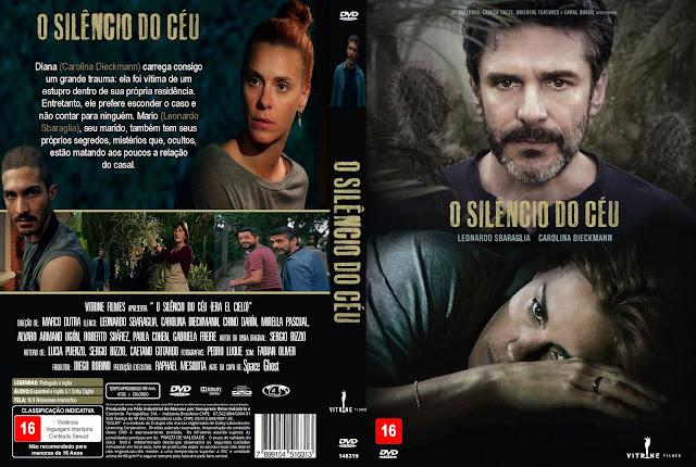 Capa DVD O Silêncio Do Céu