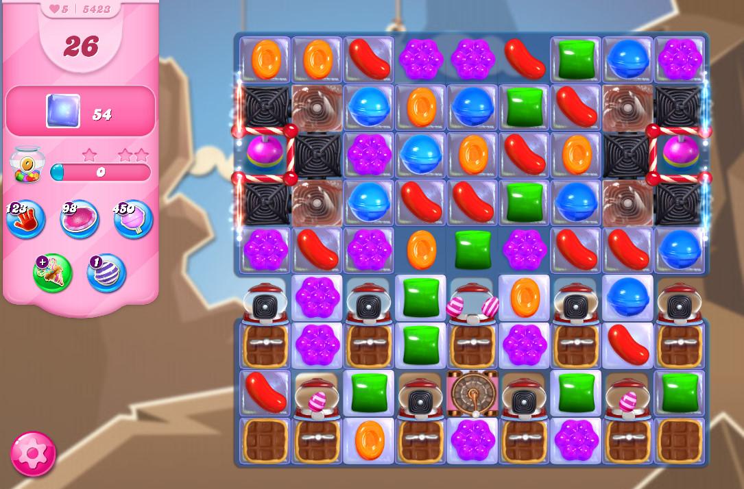 Candy Crush Saga level 5423