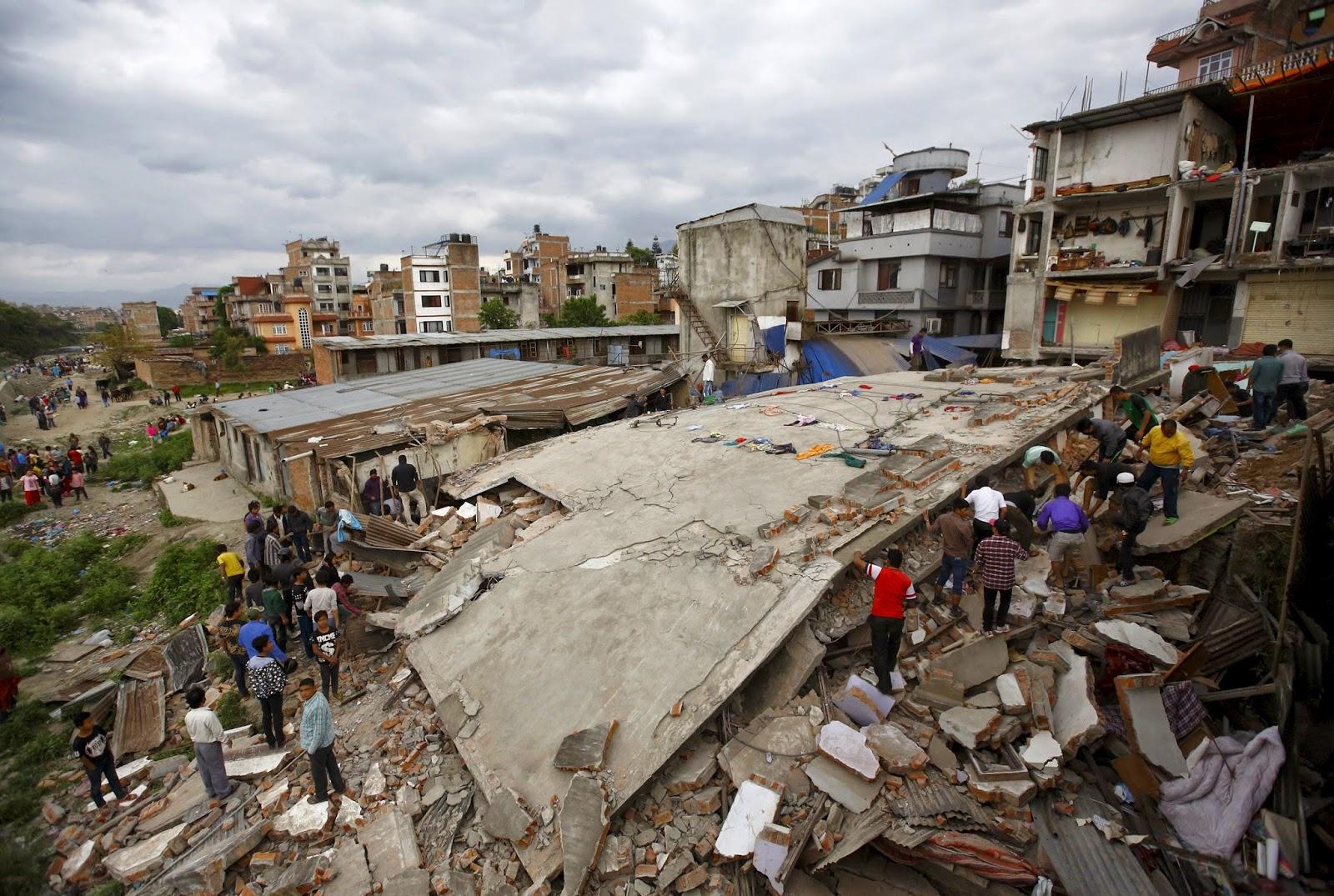 Mangsa gempa bumi di Nepal mencecah 2,300 orang   shameel