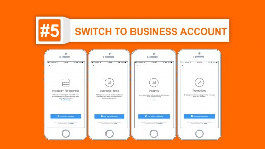 switch to business account