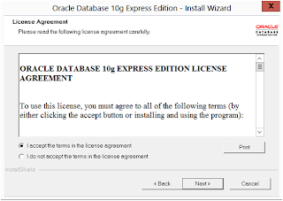 Installation of Oracle XE 10g on windows 8   My Tips