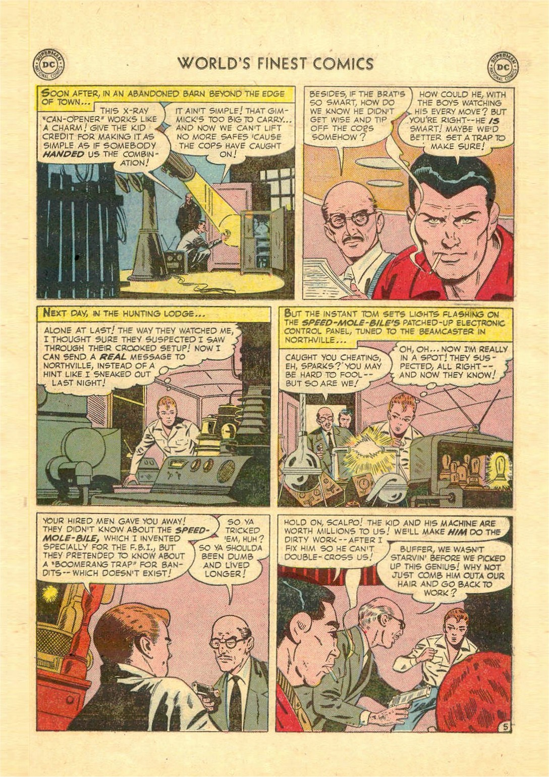 Read online World's Finest Comics comic -  Issue #52 - 57