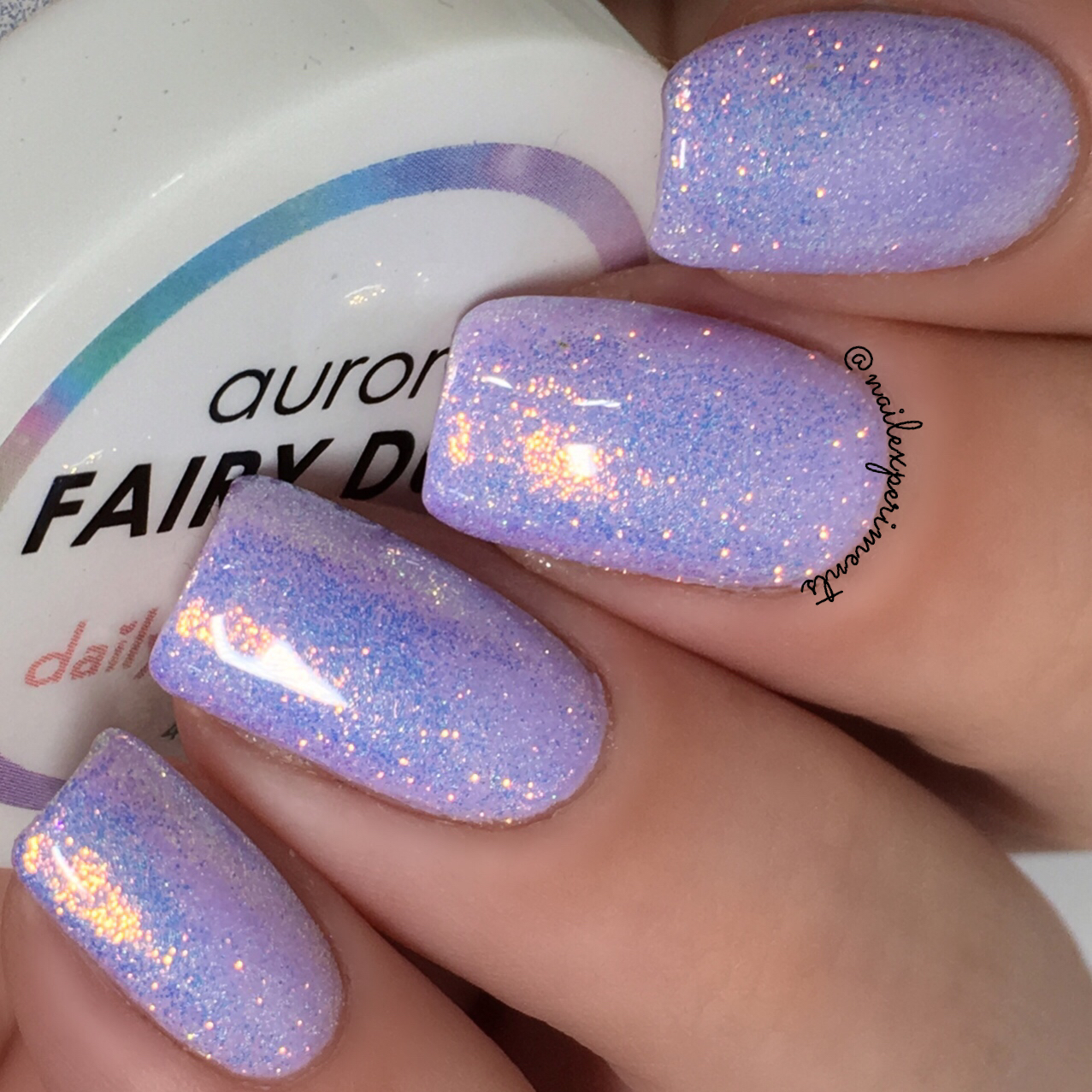 Nail Experiments: Daily Charme Aurora Fairy Dust Magic Glitter