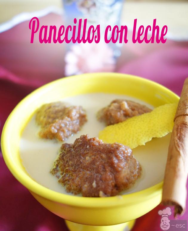 Buñuelos con leche merengada o Panecillos con leche | Receta de Andújar