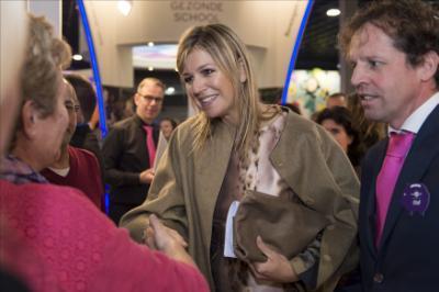 Queen Maxima visits the National Education Fair