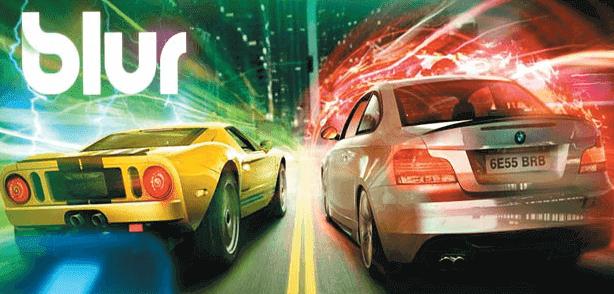 تحميل لعبة سباق السيارات Blur للكمبيوتر وللاندرويد بحجم صغير مجانا