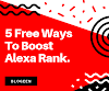 5 Free Ways To Boost Alexa Rank in 2019.