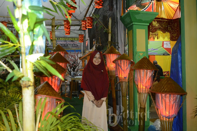 Night Portrait, Gampong Expo 2017, Gampong Expo Lhokseumawe