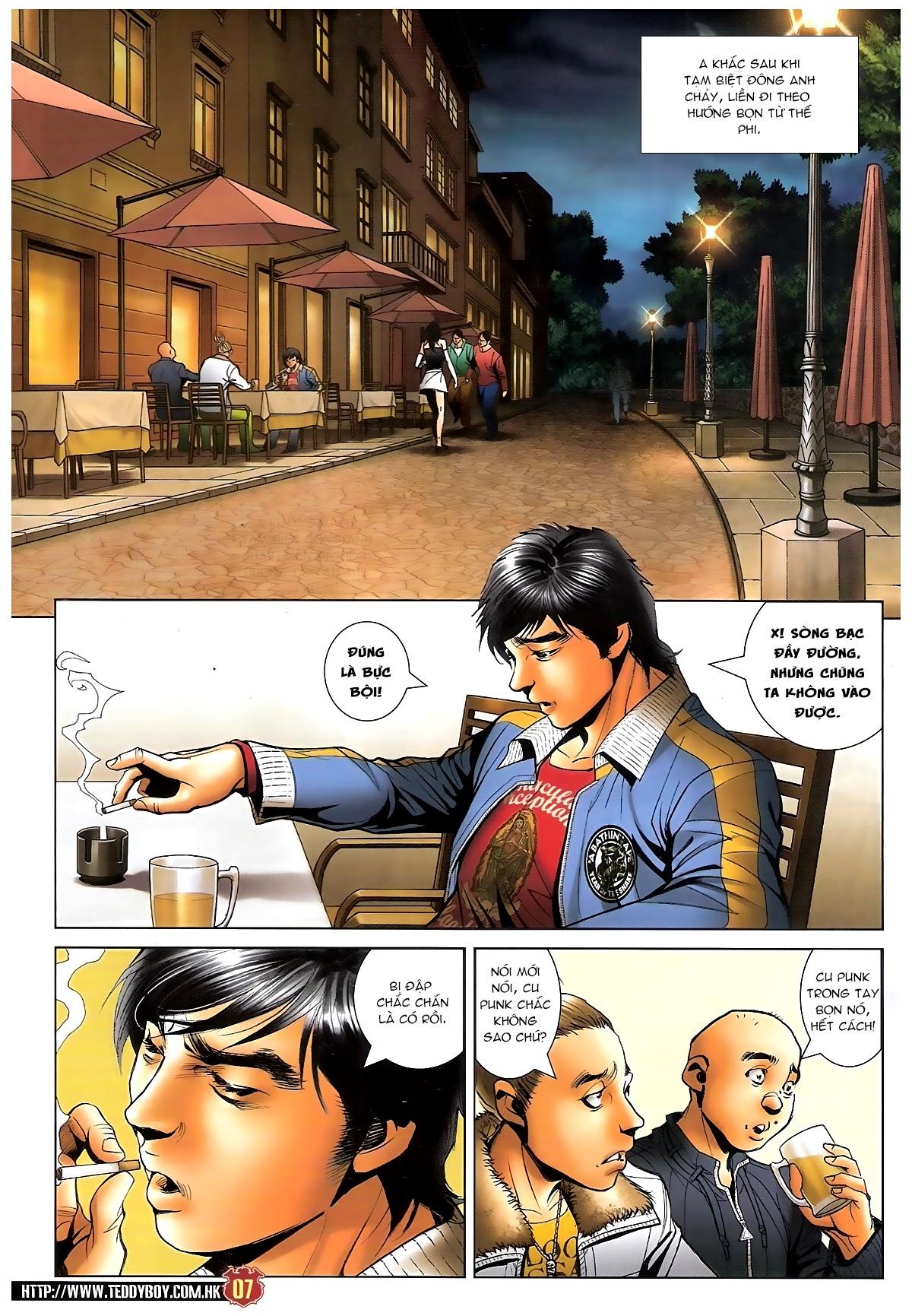Người Trong Giang Hồ - Chapter 1585: Chỗ dựa của Địch Uy - Pic 6