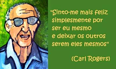Sinto-me mais feliz - Carl Rogers