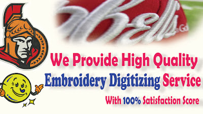 Embroidery Logo Digitizing Service