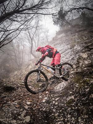 MTB Trail Bikebergsteigen Cima Sat