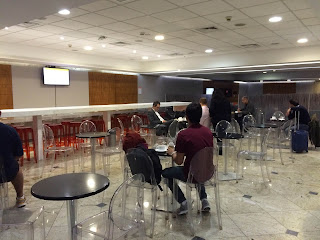 sala vip internacional do smiles no aeroporto de guarulhos