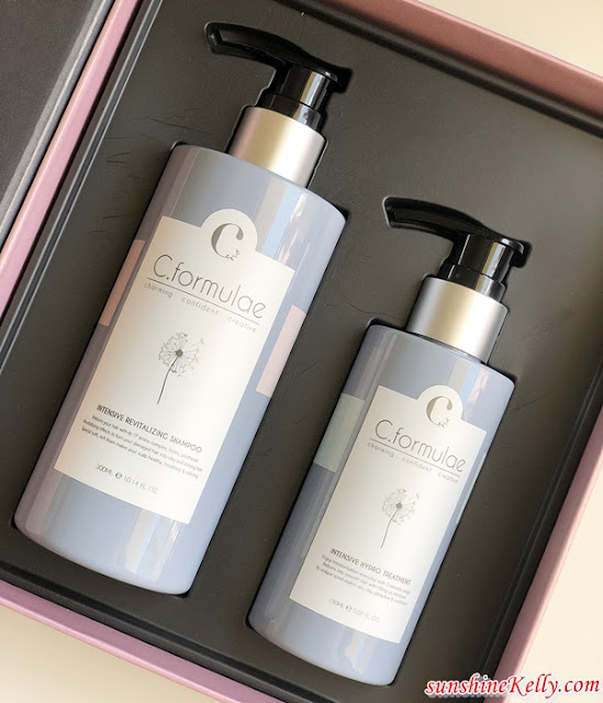 candour, c.formulae, C.Formulae Revitalise Haircare Series, c.formulae Intensive Revitalizing Shampoo, c.formulae Intensive Hydro Treatment, haircare review, haircare, beauty
