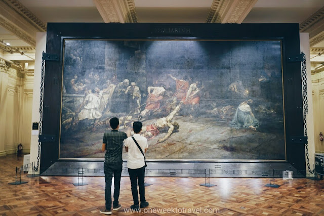 Spoliarium at the National Museum