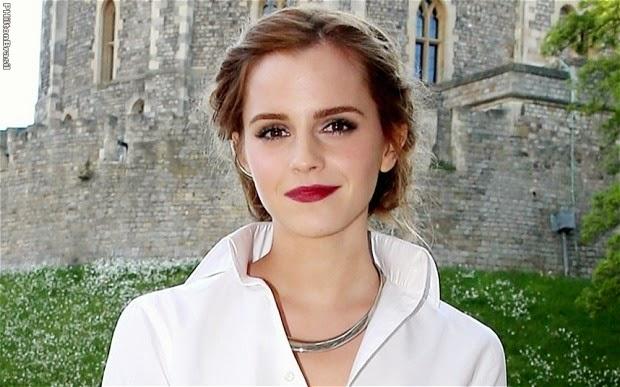 Emma Watson pede que homens apoiem luta pela igualdade de gênero