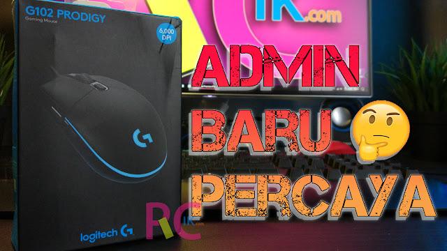 Duit 200rb Dapat Mouse Gaming Apa Ya? Kasih Rekomendasi Dong! Coba Baca Review Logitech G102 Prodigy Ini, Siapa Tahu Suka
