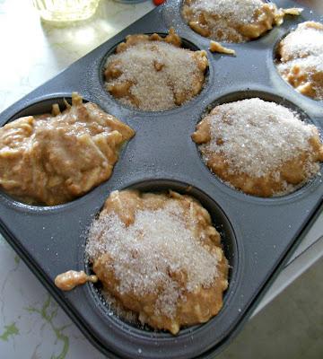 Small batch Sugar Top Fresh Apple Spice Muffins.