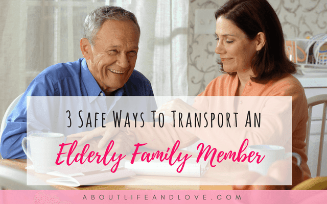 3 Safe Ways To Transport An Elderly Family Member To The Doctor