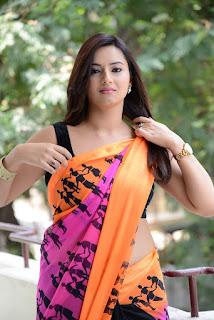 Isha-Chawla-hot-saree