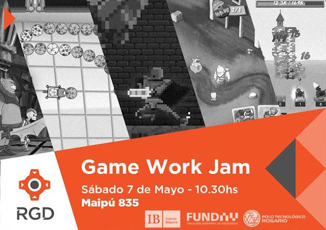 Game Work Jam (GWJ) 2016 Rosario Gamedevs