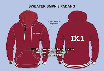 SWEATER SMPN 9 PADANG