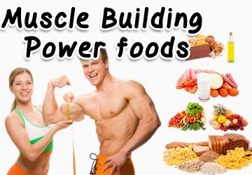 Food For Muscles Building