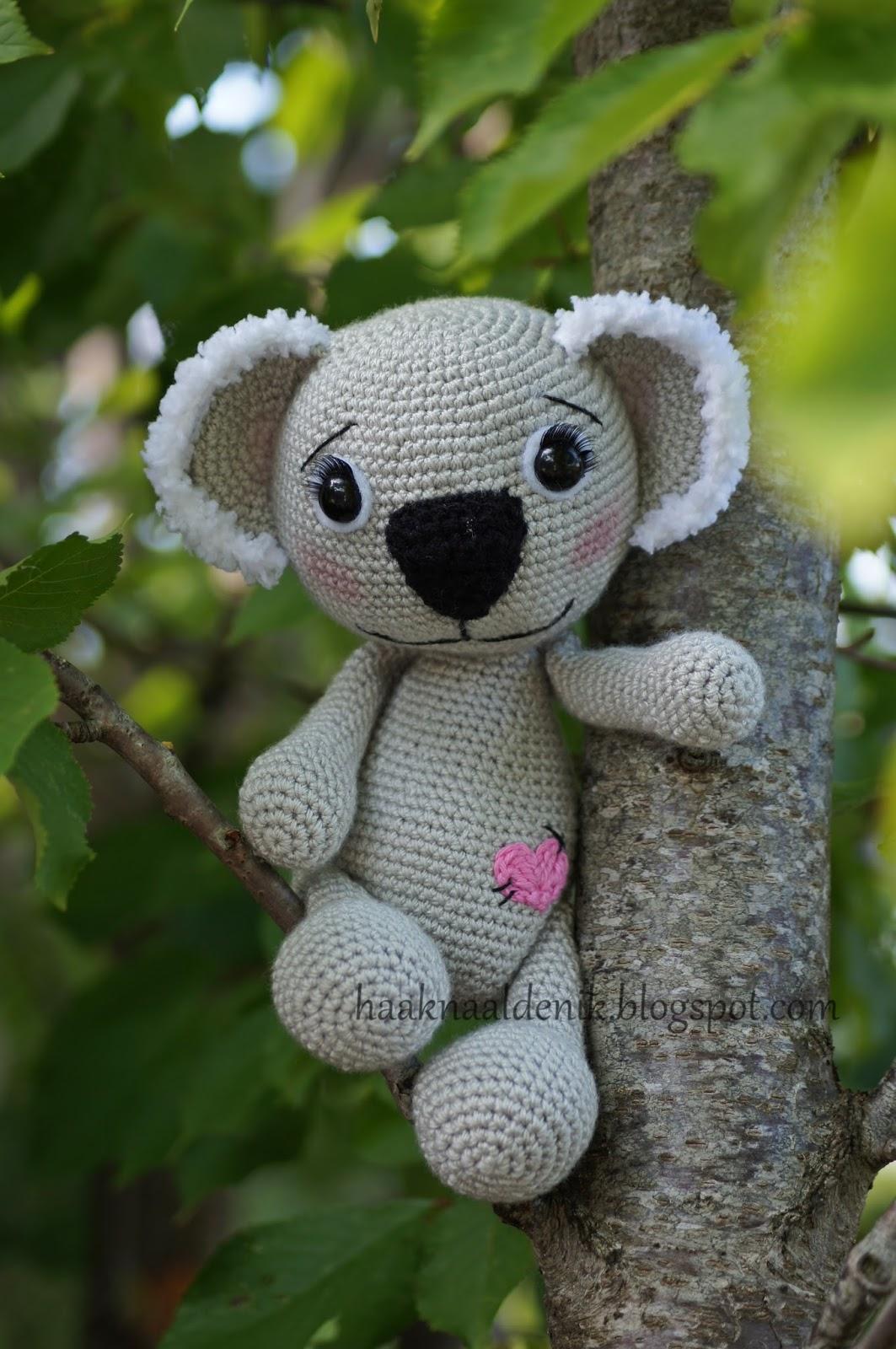 Avontuur Met Een Haaknaaldgehaakte Knuffels En Nog Meer Koala