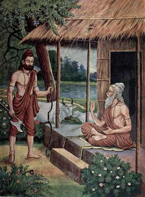 Parashuram and sage jamadhagni