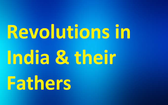 Complete List of Revolutions in India and Their Father
