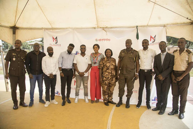 Dj Mensah Launches Foundation, Screens Juveniles At Borestal Institute