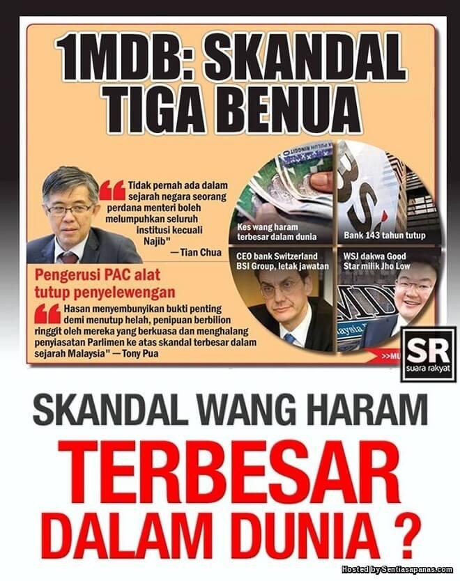 Kenapa Tiada Tindakan Terhadap Tuduhan Najib Pencuri?