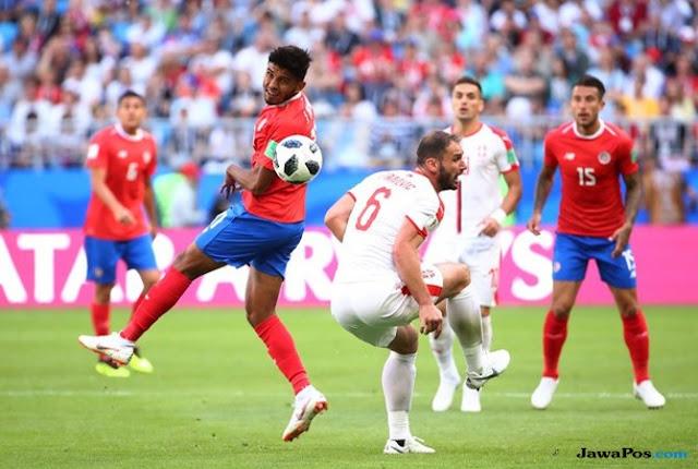 Hasil Kosta Rika vs Serbia Skor Akhir 0-1 | Fase Group E World Cup 2018
