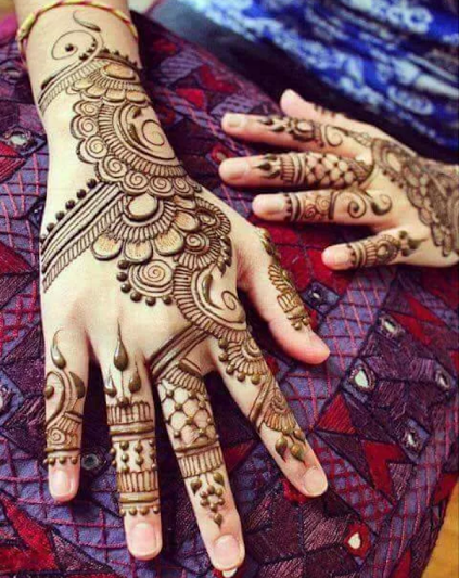 girls mehndi