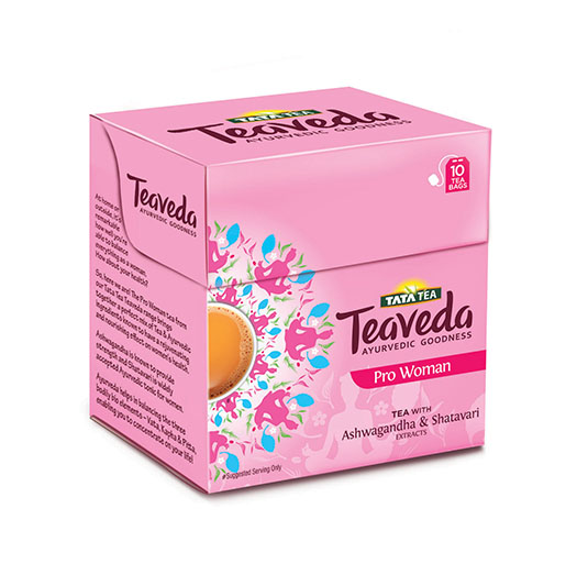 Rs. 60 Tata Tea Teaveda - Pro Woman 10 tea bags
