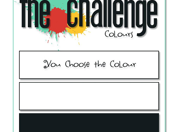 The Challenge #92 - Black, White + Your Choice