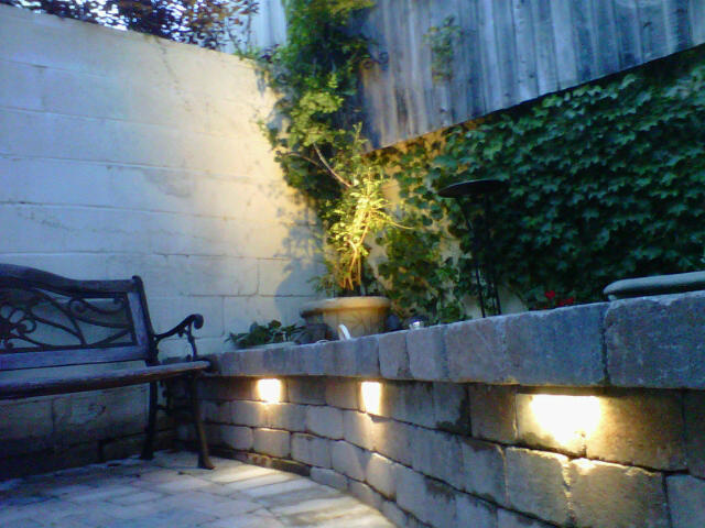 Custom Stoneworks Amp Design Inc Ledge Lights For Walls